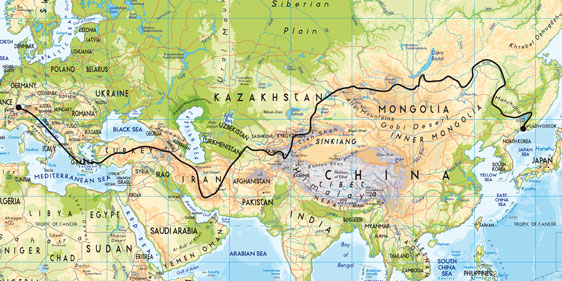The Great Silk Road 2020